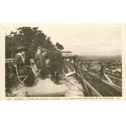 carte postale ancienne 54 NANCY. Table Orientation et Jumelle Cure d'air Saint-Antoine