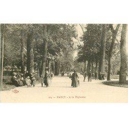 carte postale ancienne 54 NANCY. A la Pépinière. Edition Royer