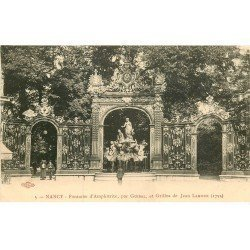 carte postale ancienne 54 NANCY. Fontaine d'Amphitrite