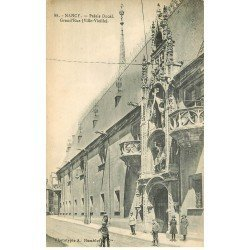 carte postale ancienne 54 NANCY. Grande Rue Palais Ducal 1923
