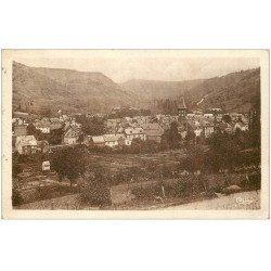 carte postale ancienne 12 MARCILLAC. Vue générale 1950