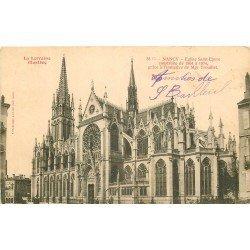 carte postale ancienne 54 NANCY. Eglise Saint-Epure Place des Dames 1904