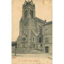carte postale ancienne 54 NANCY. Eglise Saint-Mansuy 1915