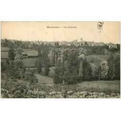 carte postale ancienne 12 MONTBAZENS. Vue générale du Village