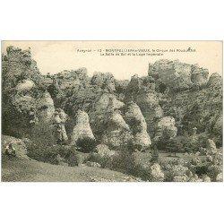carte postale ancienne 12 MONTPELLIER-LE-VIEUX. Cirque des Rouquettes. Salle de Bal et Loge Impériale