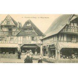 carte postale ancienne 54 NANCY. Exposition Village Alsacien