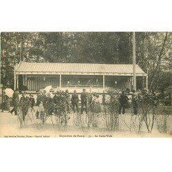 carte postale ancienne 54 NANCY. Exposition le Cake-Walk jeu de Fête Forraine avec tapis mobile 1909