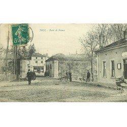 carte postale ancienne 54 TOUL. La Porte de France 1911