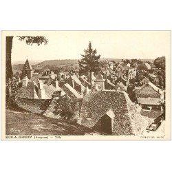 carte postale ancienne 12 MUR-DE-BARREZ. La Ville