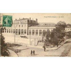 carte postale ancienne 54 TOUL. La Gare 1923