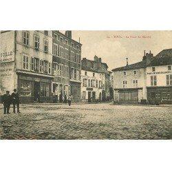 carte postale ancienne 54 TOUL. Place du Marché