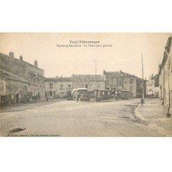 carte postale ancienne 54 TOUL. La Place Faubourg Saint-Epure Camion et Roulottes