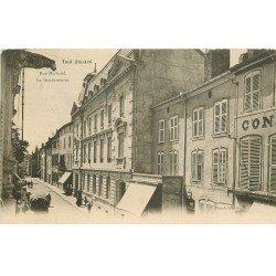 carte postale ancienne 54 TOUL. Rue Michatel la Gendarmerie 1904-1905