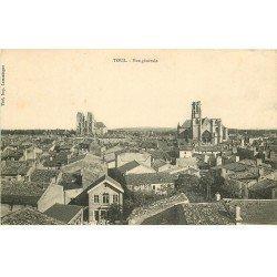 carte postale ancienne 54 TOUL. Vue générale 1912