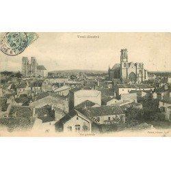 carte postale ancienne 54 TOUL. Vue générale 1906
