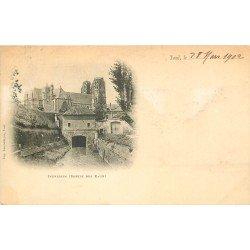 carte postale ancienne 54 TOUL. Ingressin sortie des Eaux 1902