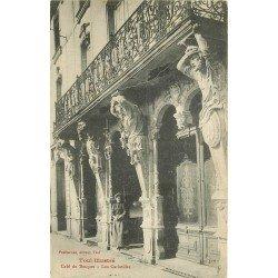 carte postale ancienne 54 TOUL. Café du Bosquet et les Cariatides