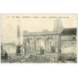 carte postale ancienne 55 ANDERNAY. La mairie 1915