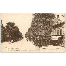 carte postale ancienne 55 BAR-LE-DUC. Boulevard de la Rochelle