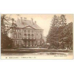 carte postale ancienne 55 BAR-LE-DUC. Hôtel de Ville