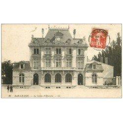 carte postale ancienne 55 BAR-LE-DUC. La Caisse d'Epargne 1911
