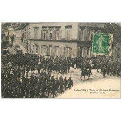 carte postale ancienne 55 BAR-LE-DUC. Le Défilé Fête du 94° Régiment d'Infanterie