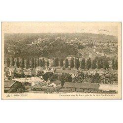 carte postale ancienne 55 BAR-LE-DUC. Panorama de la Gare 1948 (timbre manquant)