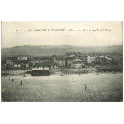 carte postale ancienne 55 CHAUVRONCOURT. Ligne du Chemin de Fer et Côte Sainte-Marie 1923