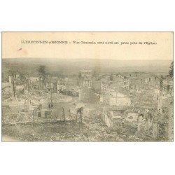 carte postale ancienne 55 CLERMONT-EN-ARGONNE. 1915
