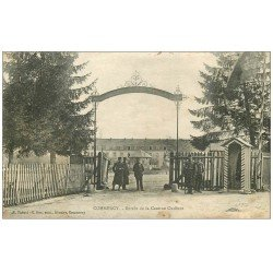 carte postale ancienne 55 COMMERCY. Caserne Oudinot 1917