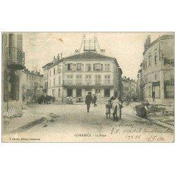 carte postale ancienne 55 COMMERCY. La Poste 1918
