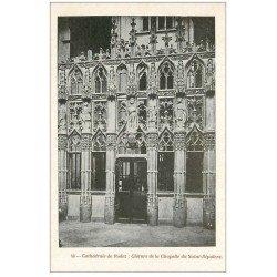 carte postale ancienne 12 RODEZ. La Cathédrale Notre-Dame. Clôture de la Chapelle du Saint-Sepulcre