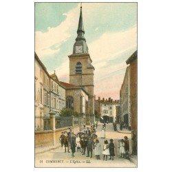 carte postale ancienne 55 COMMERCY. L'Eglise