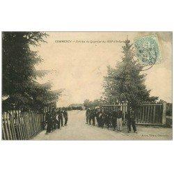 carte postale ancienne 55 COMMERCY. Quartier du 155° Régiment d'Infanterie 1905
