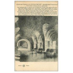 carte postale ancienne 55 DOUAUMONT. Alvéoles des Tombeaux 1934
