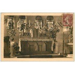 carte postale ancienne 55 DOUAUMONT. L'Autel Majeur 1930