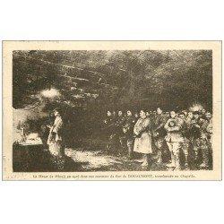 carte postale ancienne 55 DOUAUMONT. Messe de Minuit