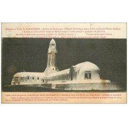 carte postale ancienne 55 DOUAUMONT. Ossuaire et Phare Chapelle 1928