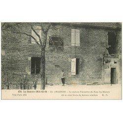 carte postale ancienne 55 EN ARGONNE. Maison Forestière du Four les Moines