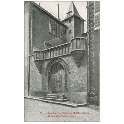 carte postale ancienne 12 RODEZ. Maison Place Adrien Rodiez