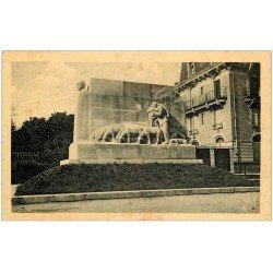 carte postale ancienne 12 RODEZ. Monument Fabié Statuaire Marc Robert