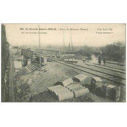 carte postale ancienne 55 PONT DE REVIGNY 1916