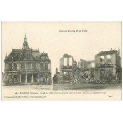 carte postale ancienne 55 REVIGNY. Hôtel de Ville