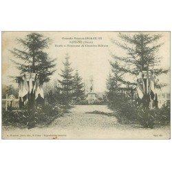 carte postale ancienne 55 REVIGNY. Monument du Cimetière Militaire