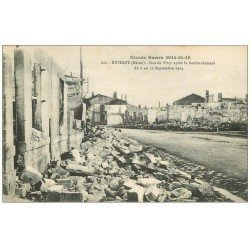 carte postale ancienne 55 REVIGNY. Rue de Vitry
