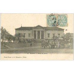 carte postale ancienne 12 RODEZ. Palais de Justice 1905