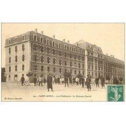 carte postale ancienne 55 SAINT-MIHIEL. Bâtiment du 150° Régiment d'Infanterie