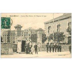 carte postale ancienne 55 SAINT-MIHIEL. Caserne Mac-Mahon 150° Régiment de ligne 1910