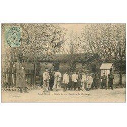 carte postale ancienne 55 SAINT-MIHIEL. Entrée 29° Bataillon de Chasseurs 1906