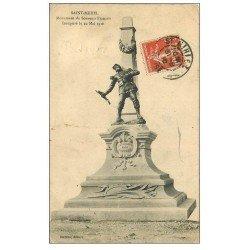 carte postale ancienne 55 SAINT-MIHIEL. Monument du Souvenir 1910